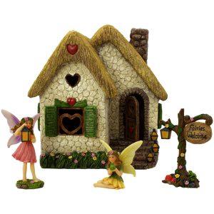Enchanted House Set - Fairy Garden House
