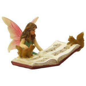 Fairy Bonnie and Musicbook - Fairy Garden Fairies