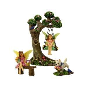 Tree Swing Set - Fairy Garden Accessories