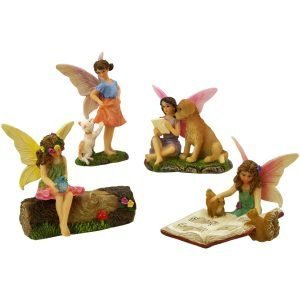 Fairy and Friends Set - Fairy Garden Fairies